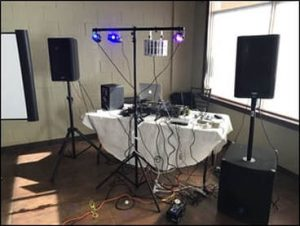 Amateur DJ Set Up